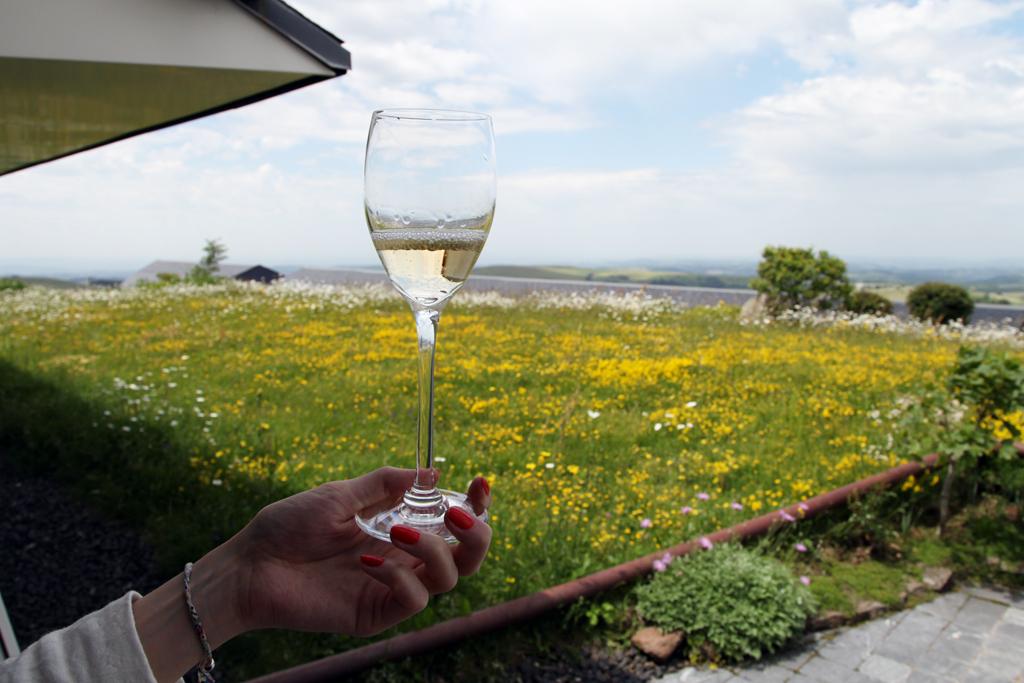 Champagne Inédit, Table Insolite chez Bras à Laguiole