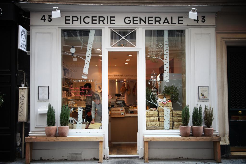 Le jambon-beurre de l'Epicerie Générale, Paris