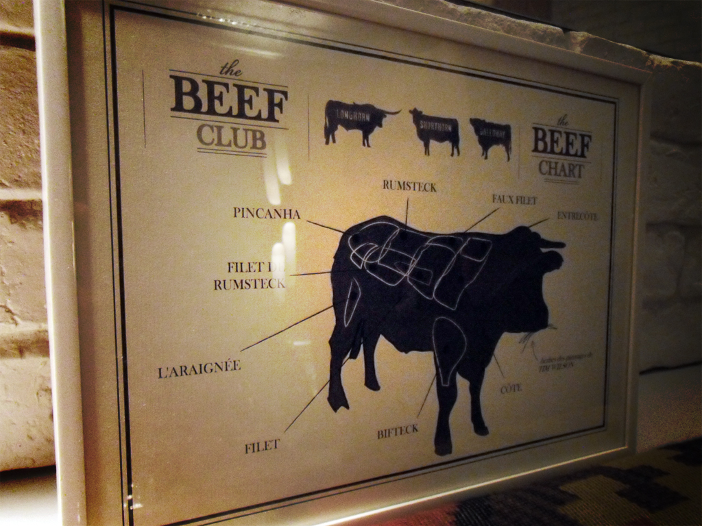 Restaurant Beef Club, Paris