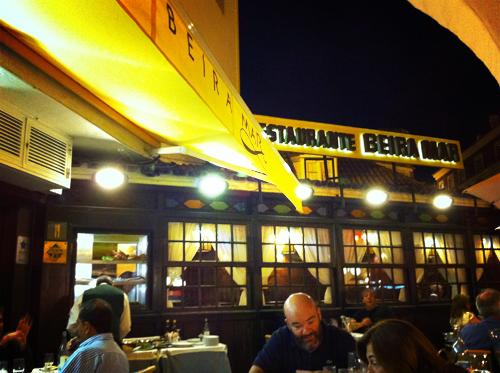 Beira Mar, restaurant à Cascais, Portugal