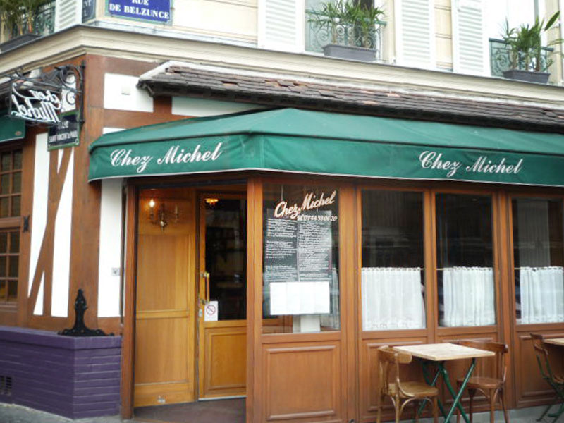 Chez Michel, Restaurant Breton à Paris