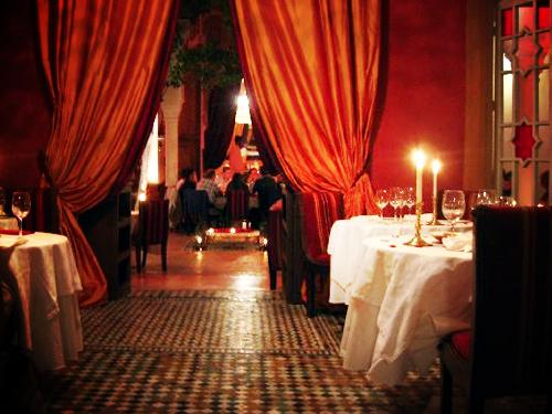 Restaurant Dar Zellij, Marrakech