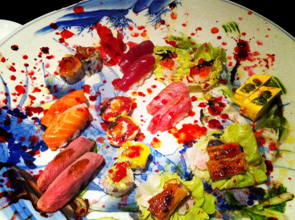 Kaiseki restaurant japonais paris orgyness - Restaurant japonais paris cuisine devant vous ...