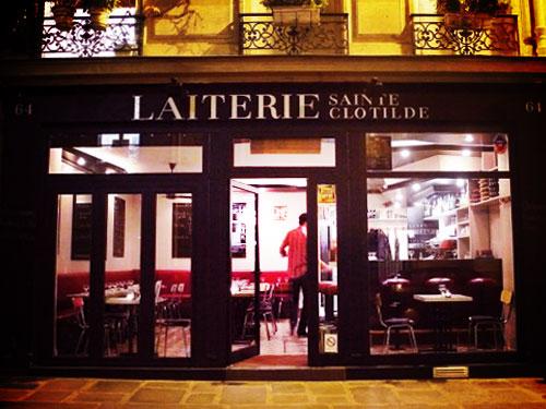 La Laiterie Sainte Clotilde, Restaurant à Paris