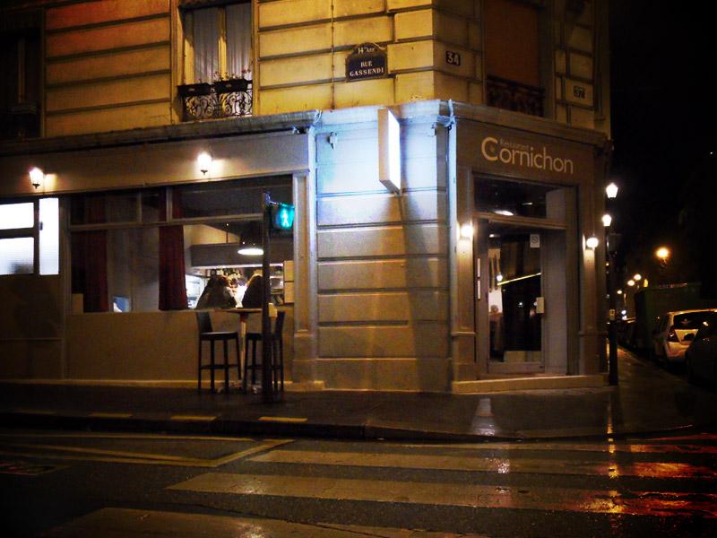 Le Cornichon, restaurant à Paris