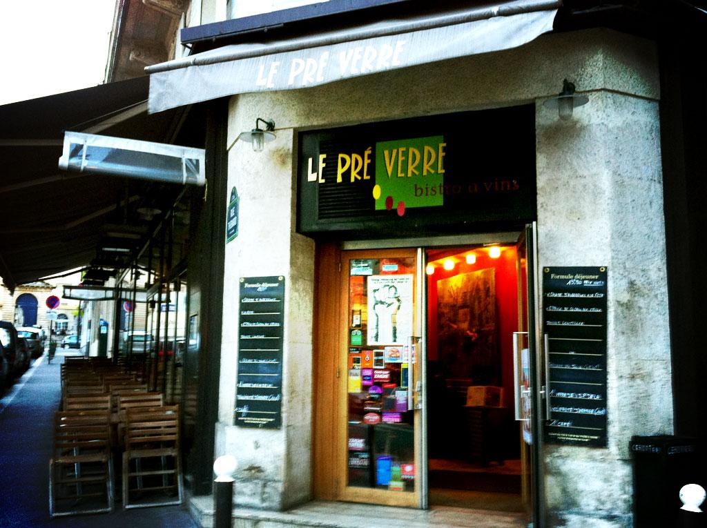 Restaurant le pr verre paris orgyness for Verre restaurant professionnelle