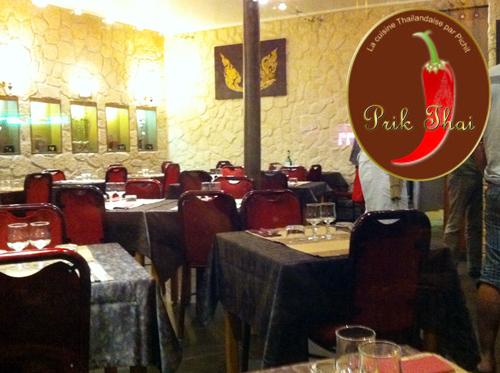 Prik Thai, restaurant Thai à Paris