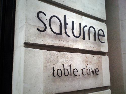 Restaurant Saturne, Paris