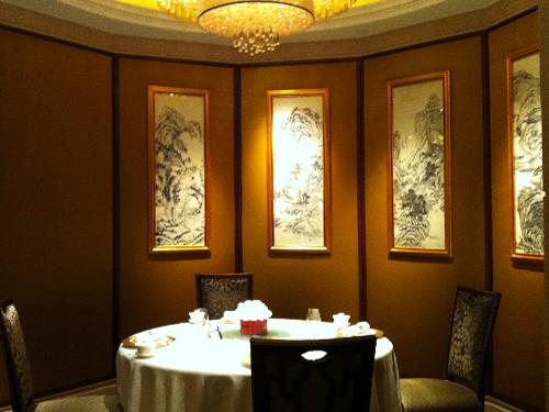 Shang Palace, le restaurant de Dim Sum du Shangri La à Paris
