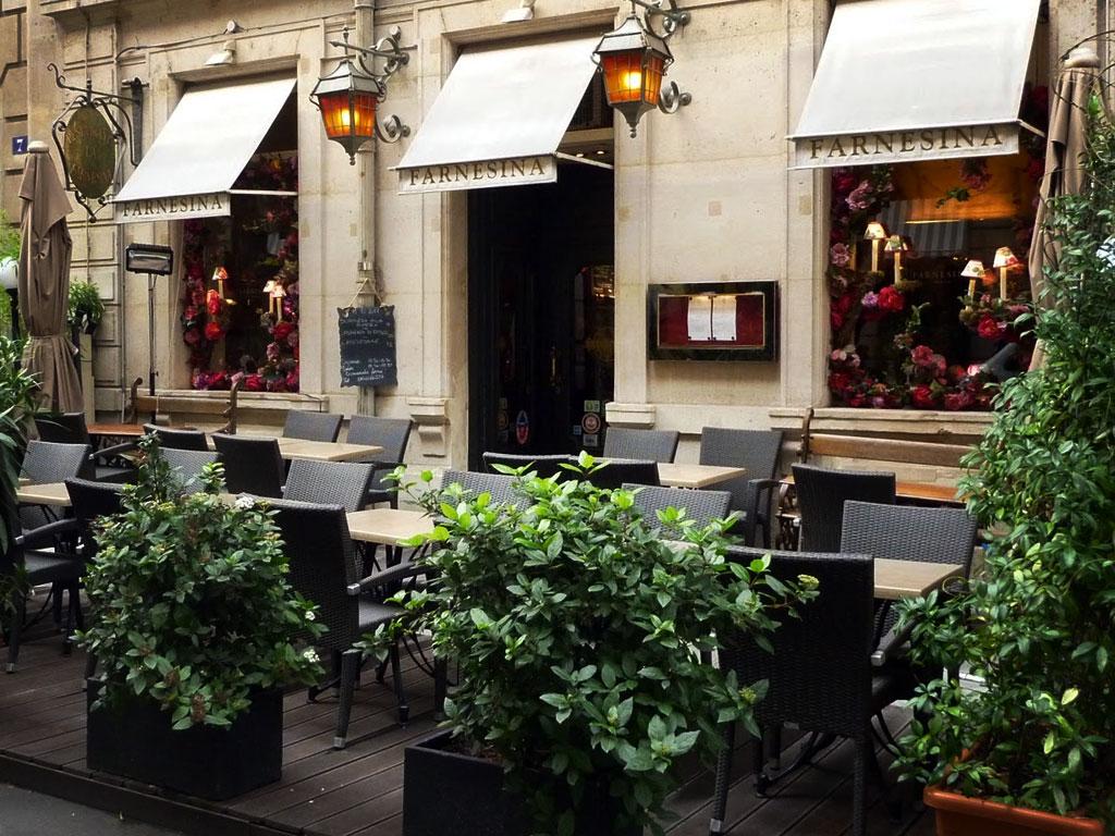 restaurant italien la farnesina paris orgyness. Black Bedroom Furniture Sets. Home Design Ideas