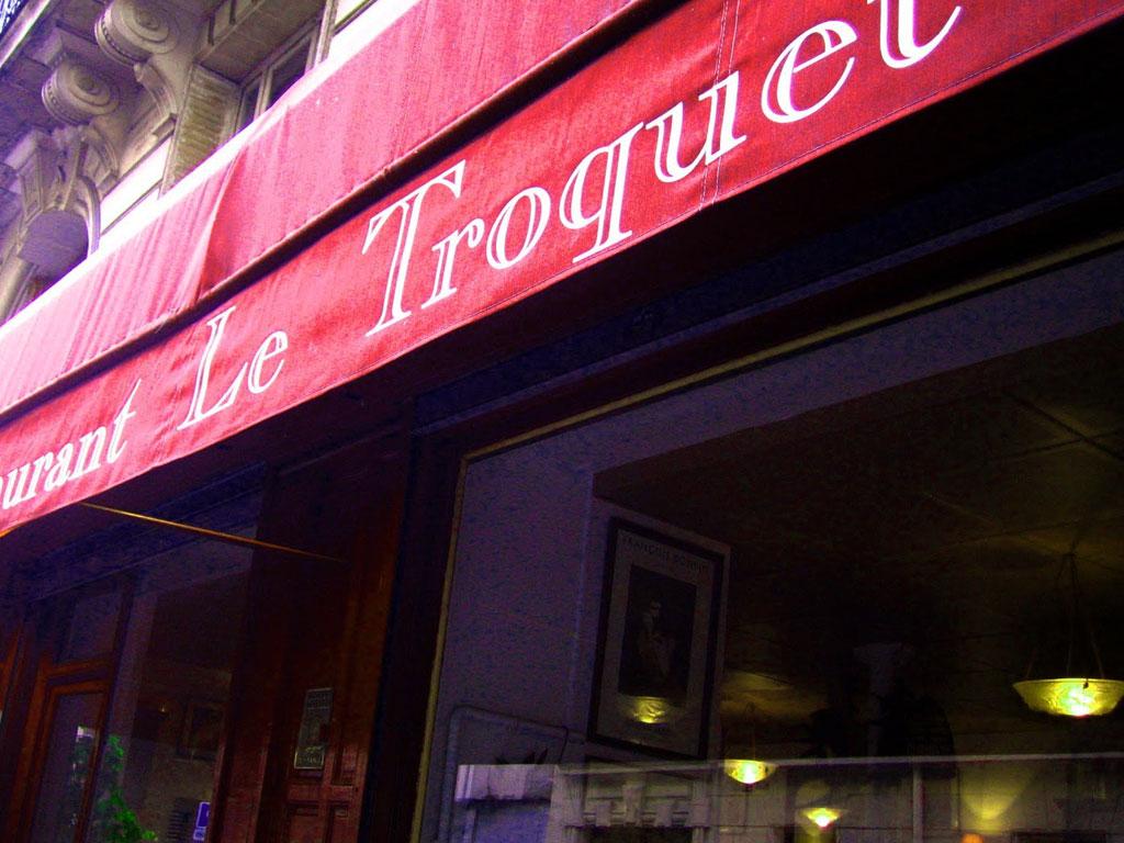 Restaurant Le Troquet, Paris