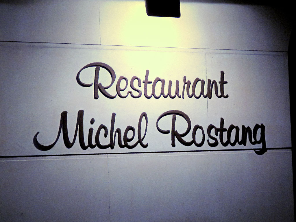 Restaurant Michel Rostang, Paris
