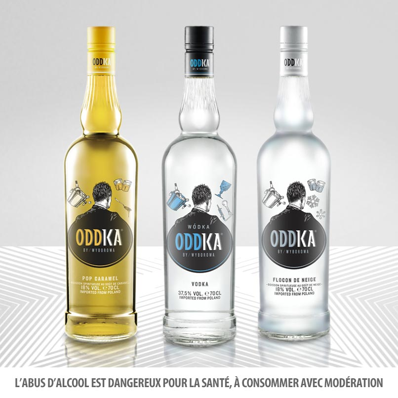 Oddka, la vodka des Polish Men