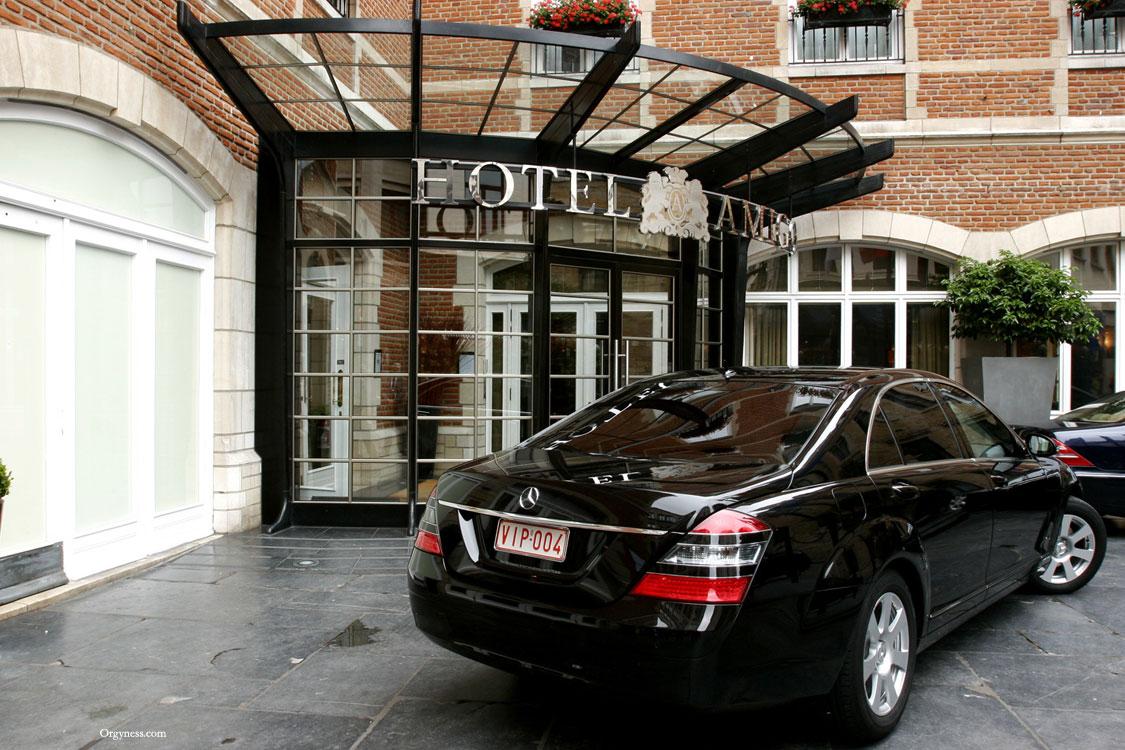 Hôtel Amigo, Bruxelles