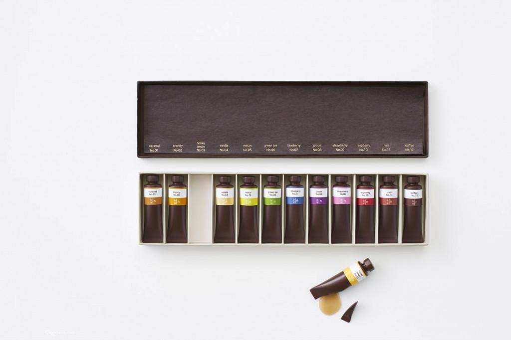 La peinture en chocolat du Studio Nendo
