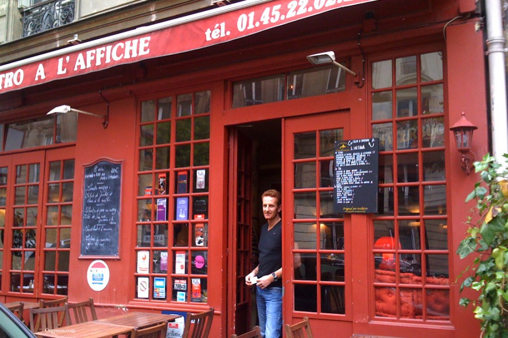 Restaurant À l'Affiche, Paris