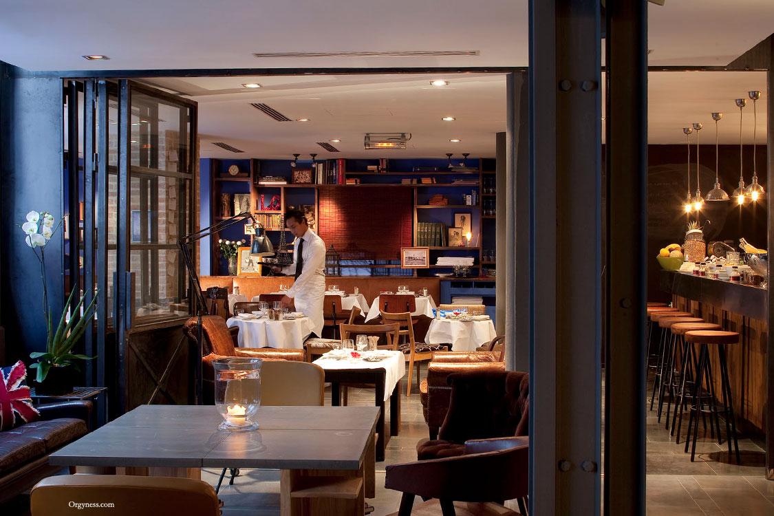 restaurant depur au klay club paris orgyness. Black Bedroom Furniture Sets. Home Design Ideas