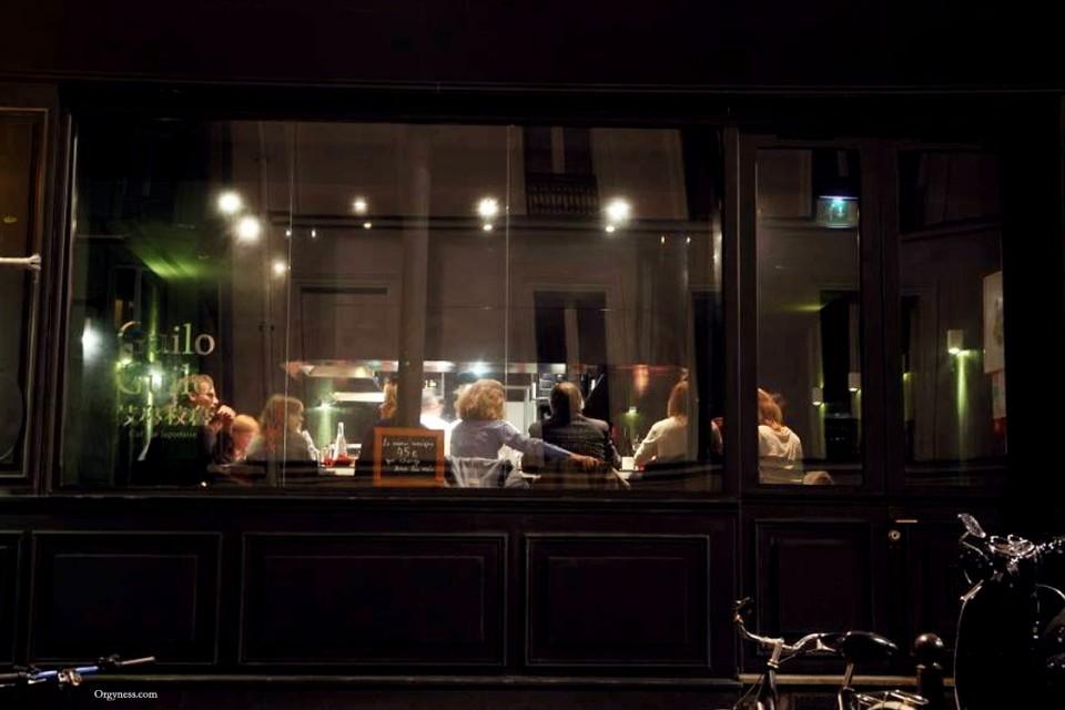 Guilo guilo restaurant japonais paris orgyness - Restaurant japonais paris cuisine devant vous ...