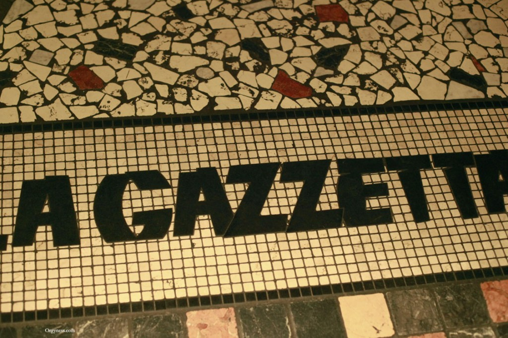 La Gazzetta, Paris – FERMÉ