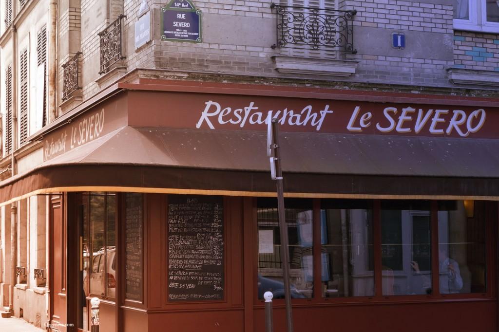 Le Severo, restaurant à viande et à Paris