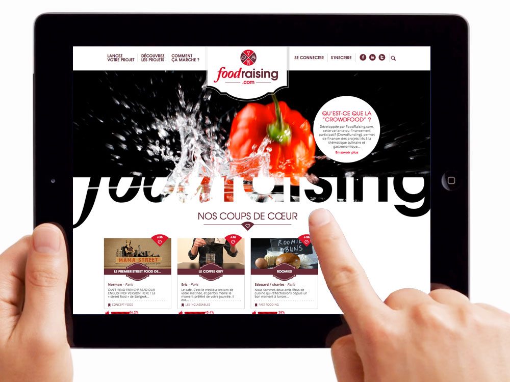 Foodraising, le crowdfunding culinaire