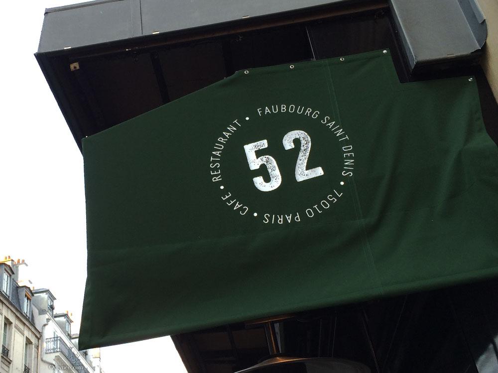 52 Faubourg Saint Denis