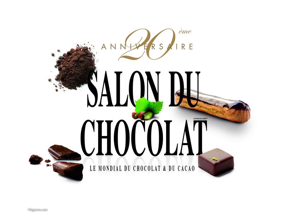 20ème anniversaire du Salon du Chocolat