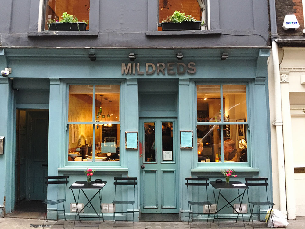 Restaurant Mildreds, Londres
