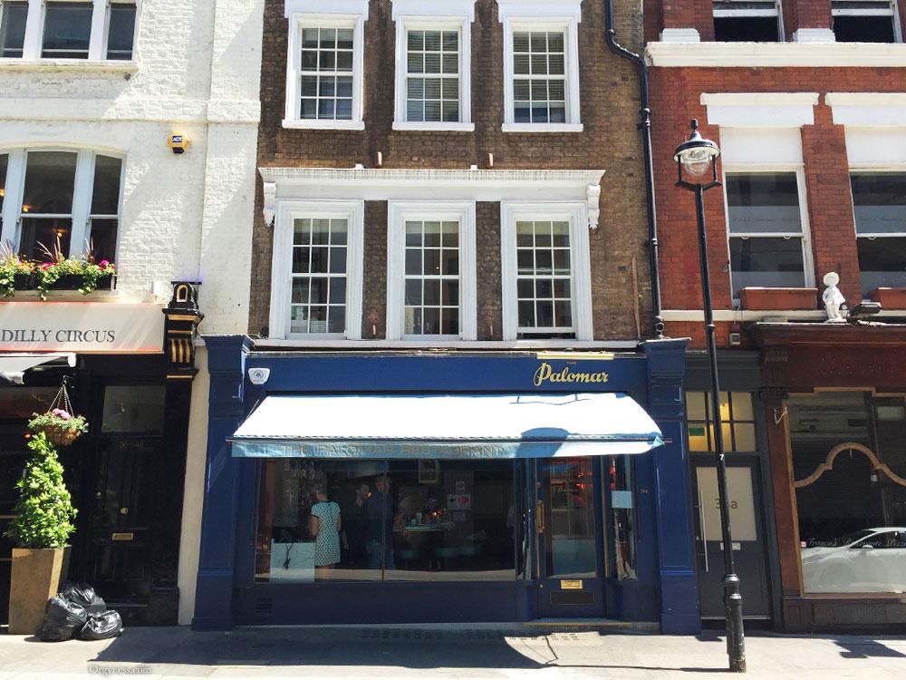 Restaurant Palomar, Londres