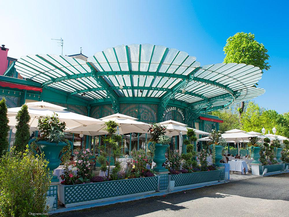 Restaurant La Grande Cascade, Paris