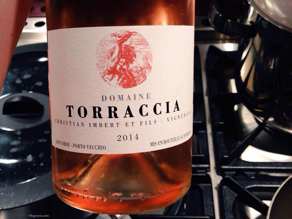 Le rosé bio du Domaine de Torraccia