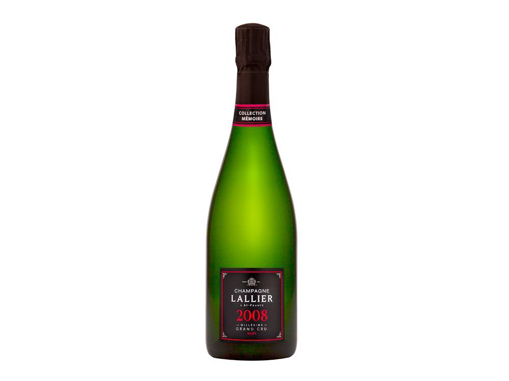 Champagne Lallier, Millésime 2008 Brut Grand Cru