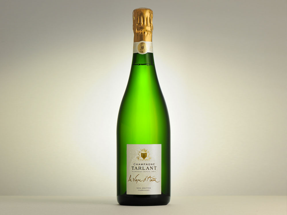 Champagne Tarlant, la Vigne d'Antan (Blanc de blancs)