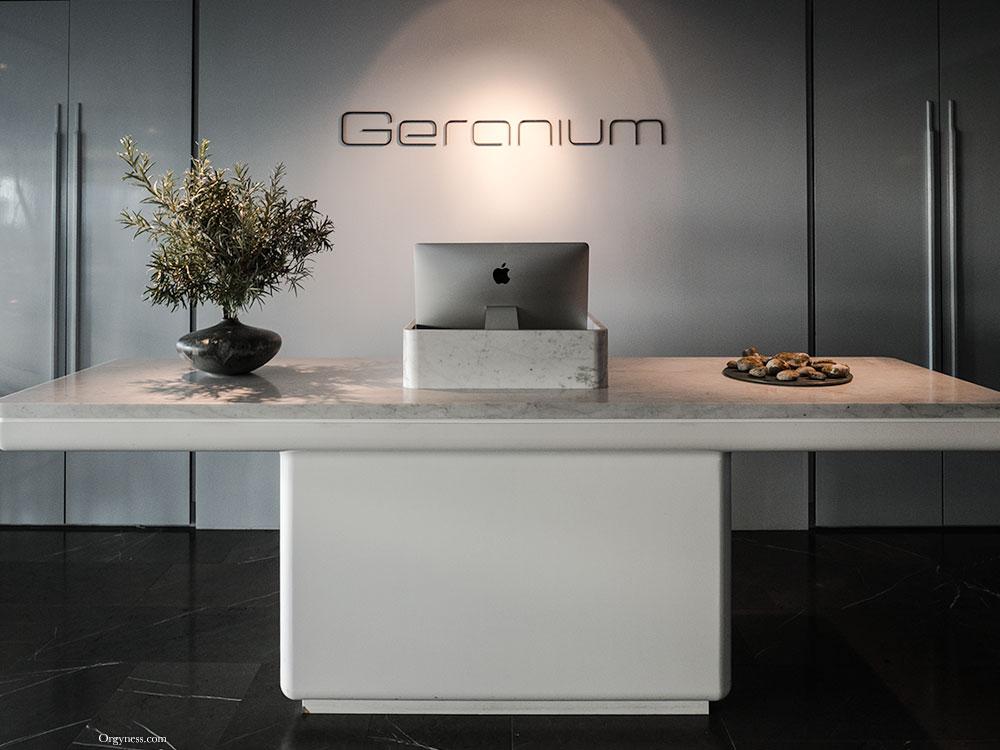 Géranium, Copenhagen