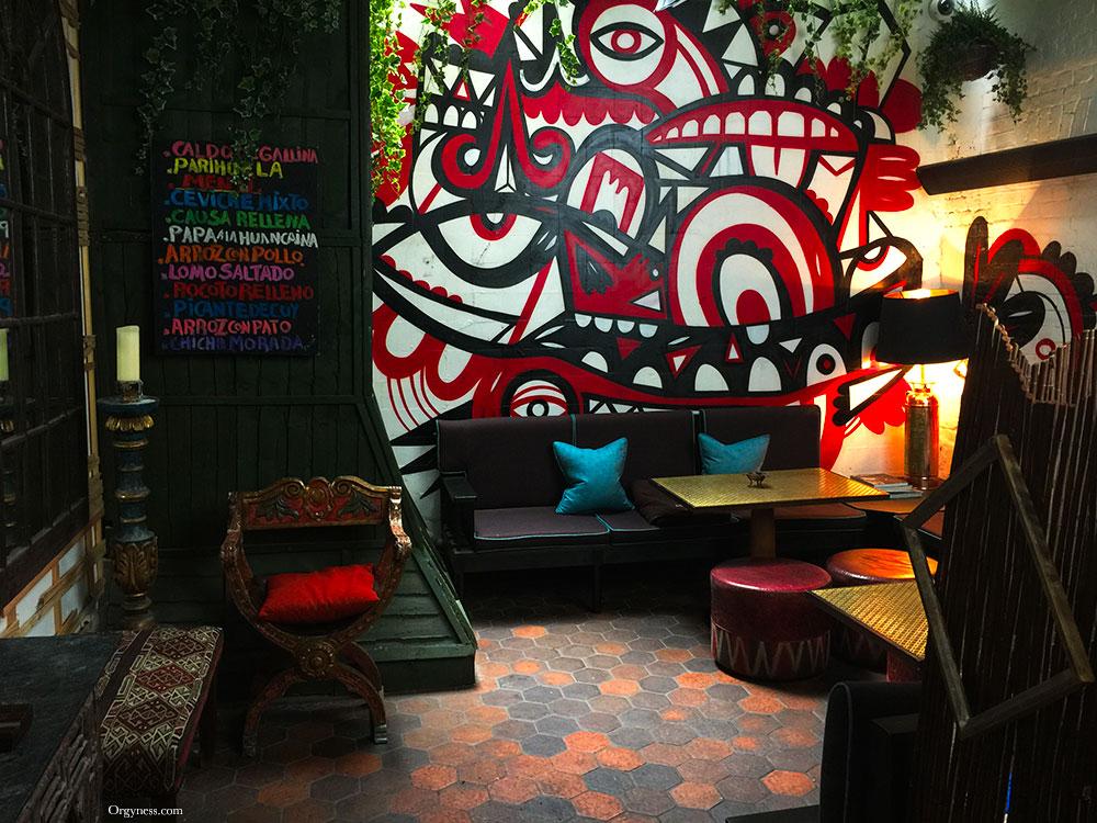 Restaurant Coya, Londres