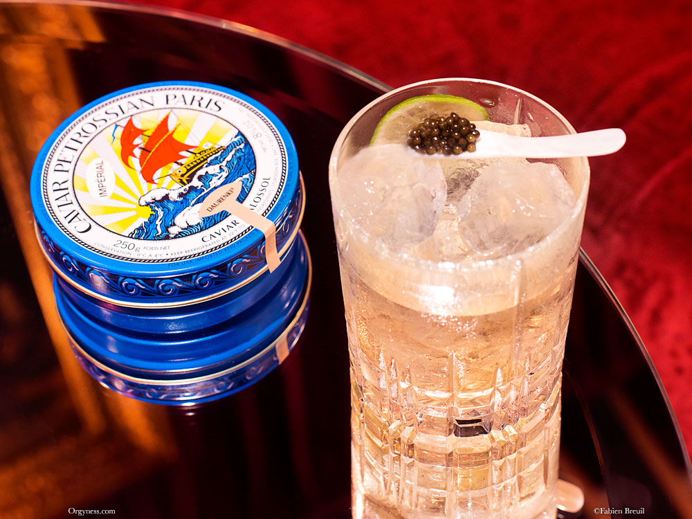 Tsar, le cocktail Petrossian x Mathis Bar