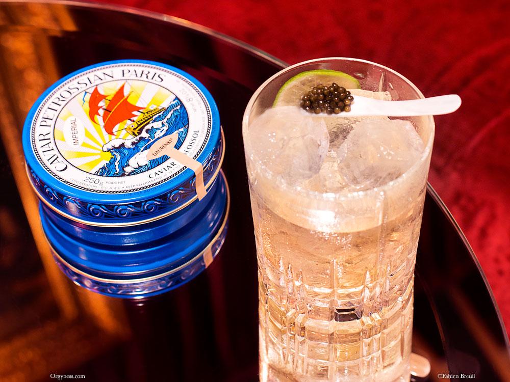 Tsar, le cocktail Petrossian x Mathis Bar
