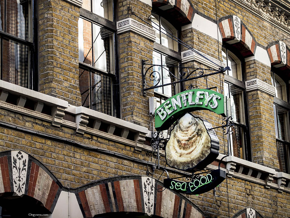 Bentley's Oyster Bar & Grill, Londres