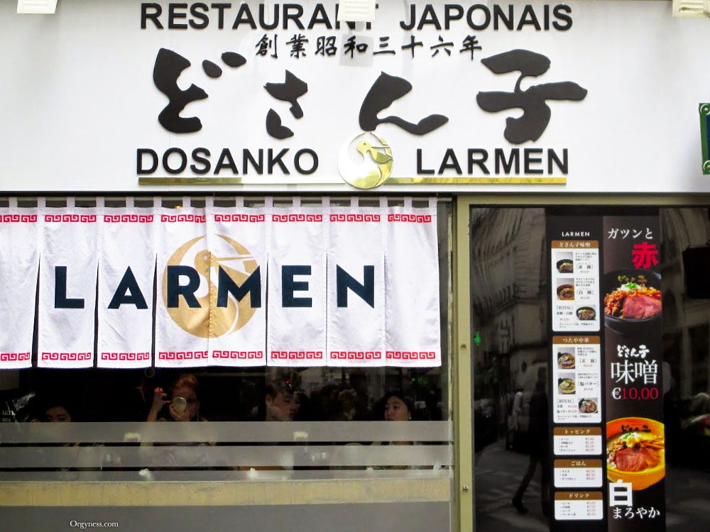 Dosanko Larmen, Paris