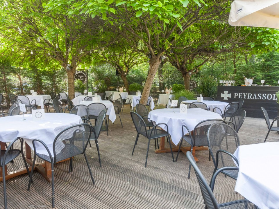 Le jardin cach de peyrassol la gare orgyness for Restaurant le jardin paris