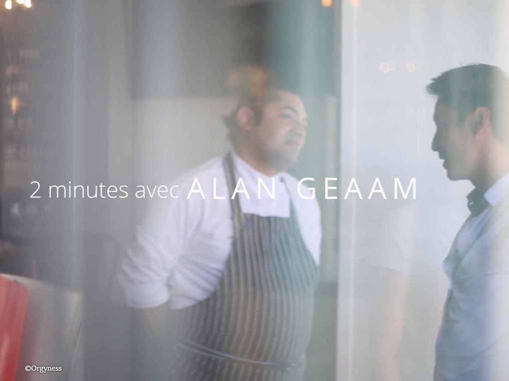 Conversation avec Alan Geaam