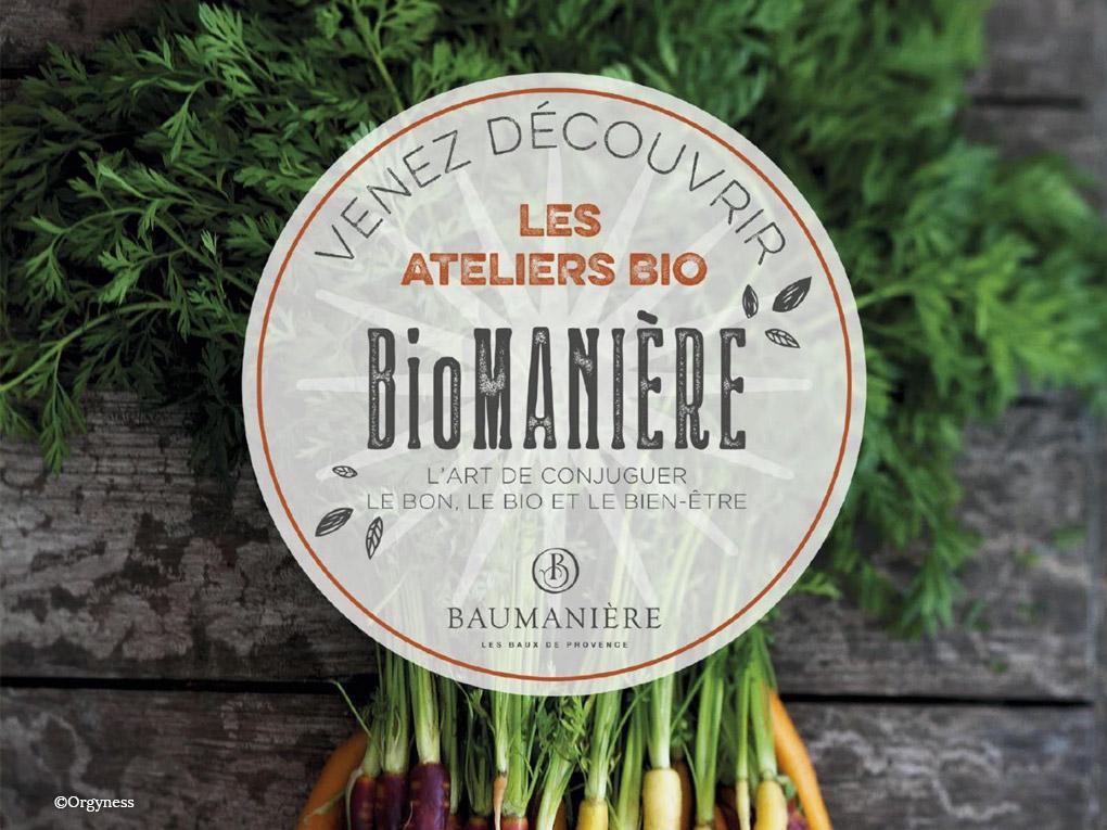 BioManière à Baumanière le 16 octobre