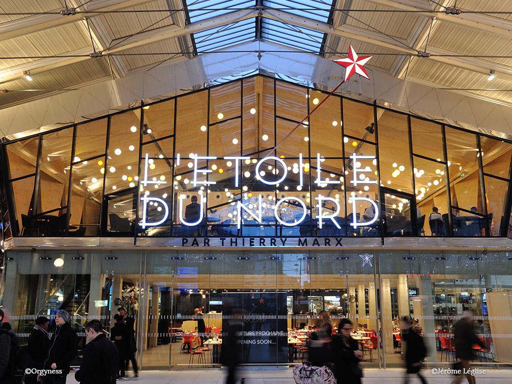 L'Etoile du Nord, nouveau restaurant de Thierry Marx à la Gare du Nord