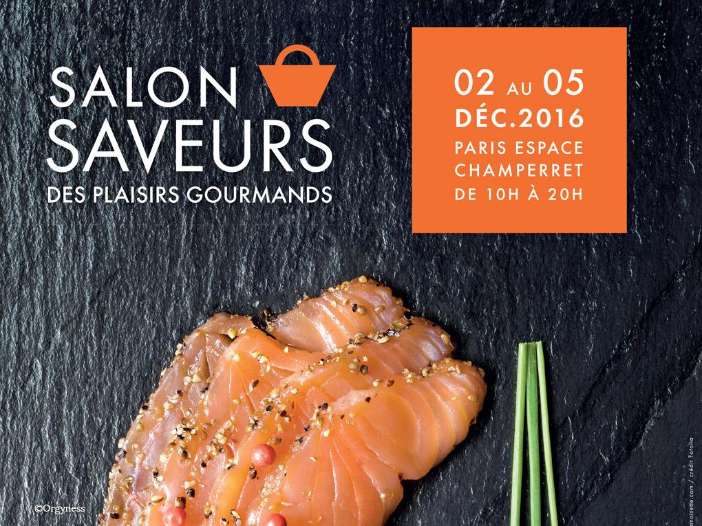 Le Salon Saveurs des Plaisirs Gourmands du 2 au 5 décembre