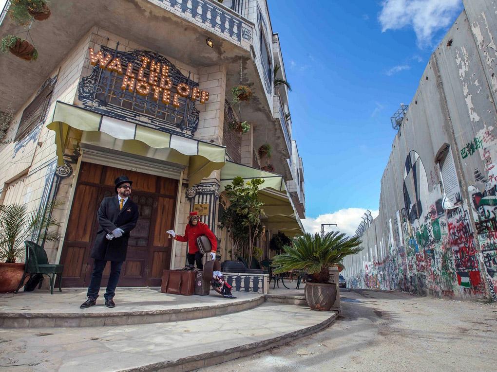 Banksy ouvre un hôtel à Bethléem
