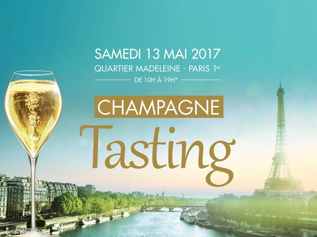 Gagnez 10 invitations pour le Champagne Tasting le 13 mai