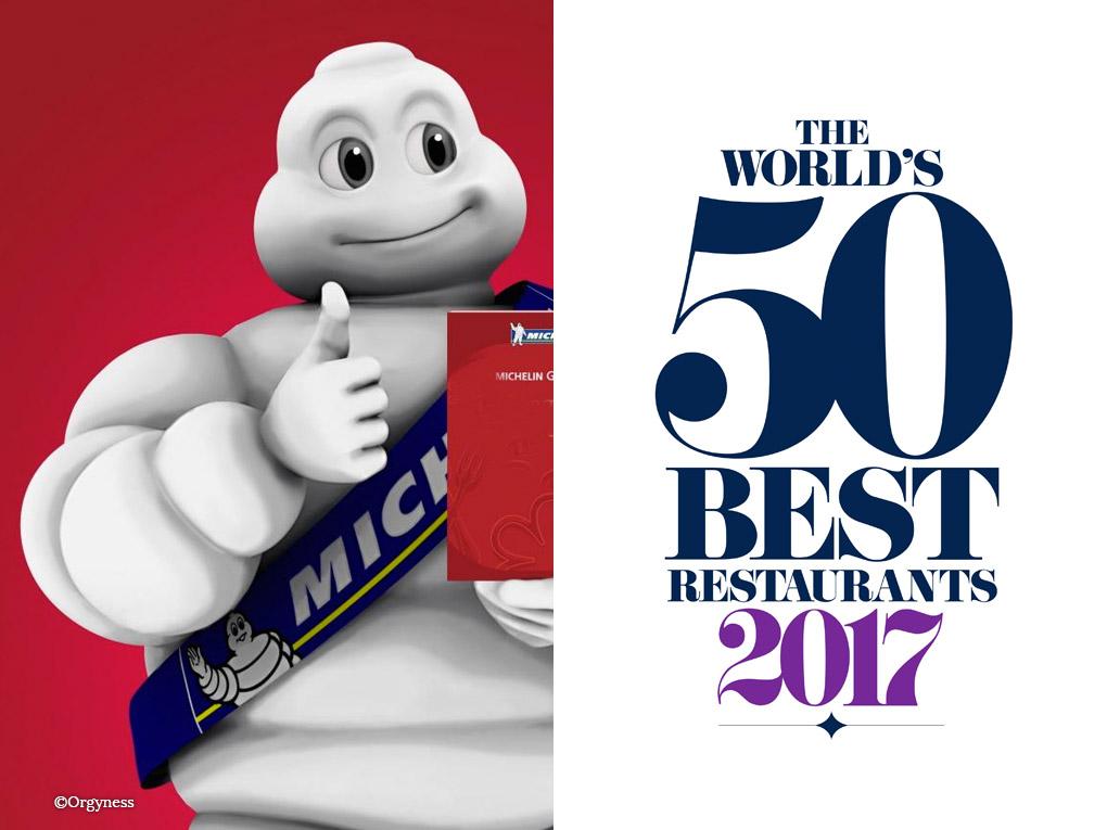 Vous êtes plutôt World's 50 Best ou Michelin ?