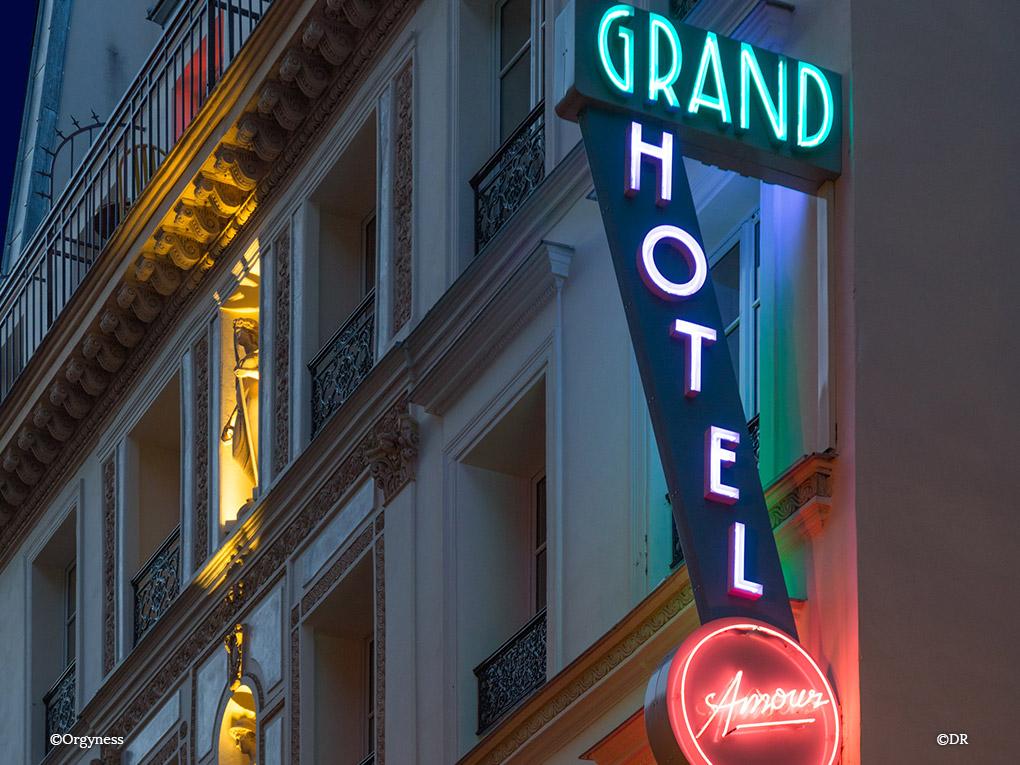 La chambre 105 à l'Hôtel Grand Amour