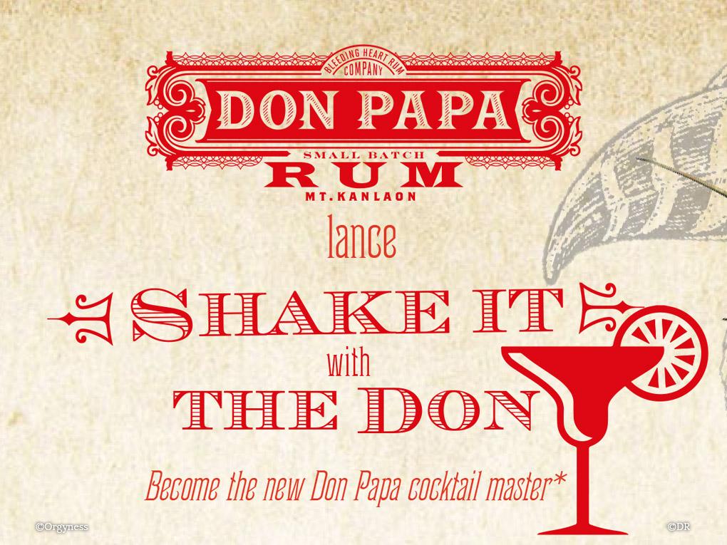 Concours de cocktails amateur avec Don Papa