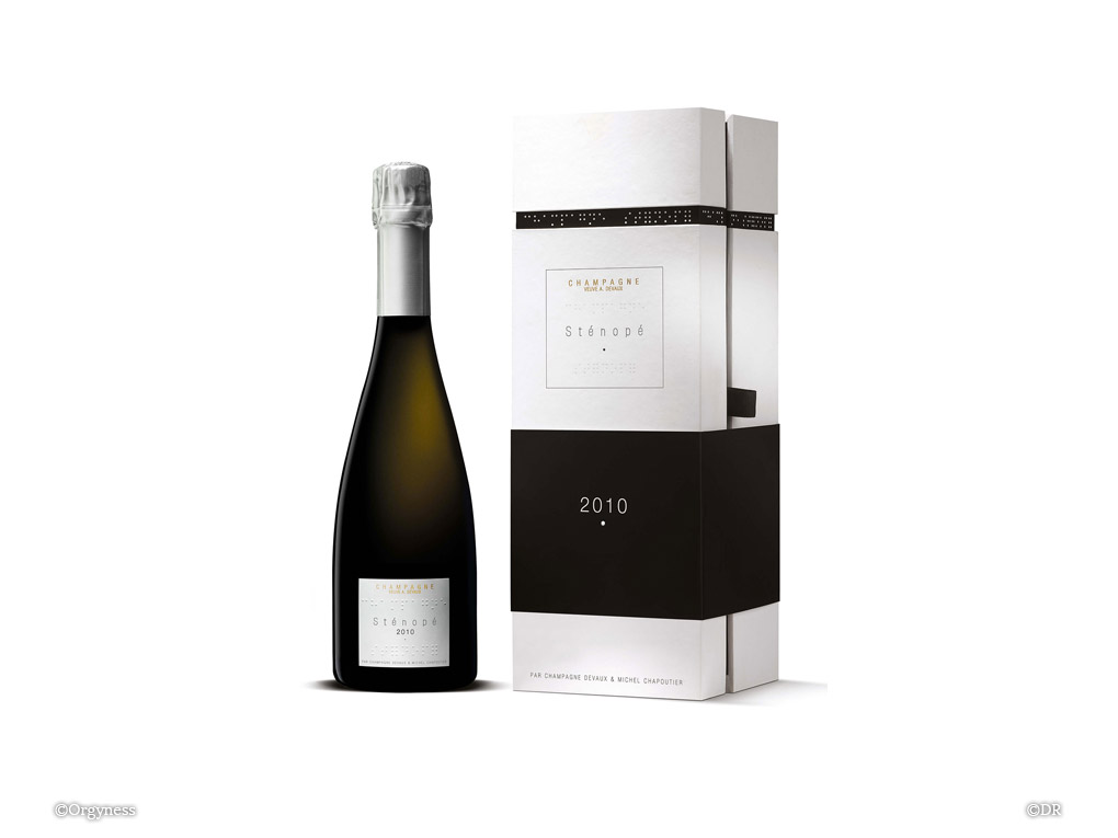 Champagne Devaux Sténopé 2010
